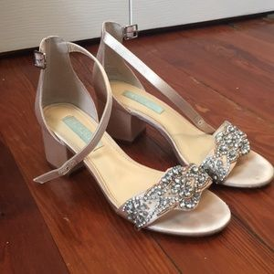 bb46740b15 Betsey Johnson Shoes - Blue by Betsy Johnson Mel Block Heel